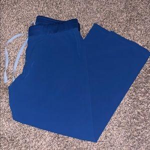 Royal blue Fig scrub pants